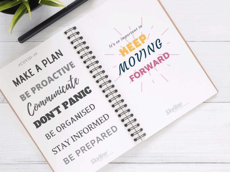 COVID-19: Keep Moving Forward