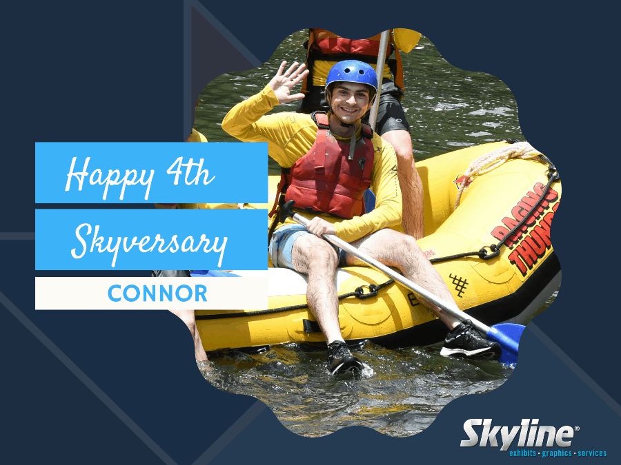 Happy 4th Skyversary Connor!