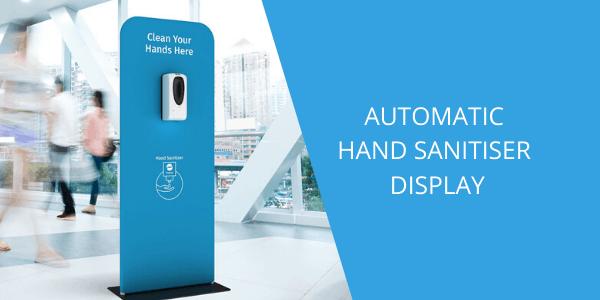 Automatic Hand Sanitiser Display