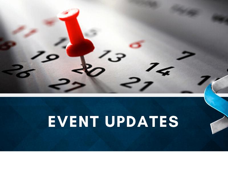 Event Updates 2020