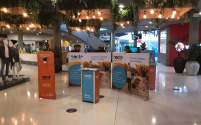 Nectr Shopping Centre Display
