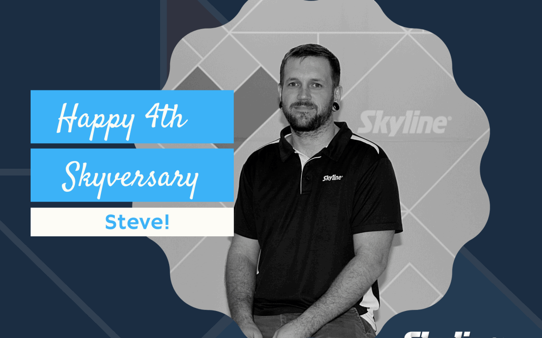 Happy 4th Skyversary Steve!