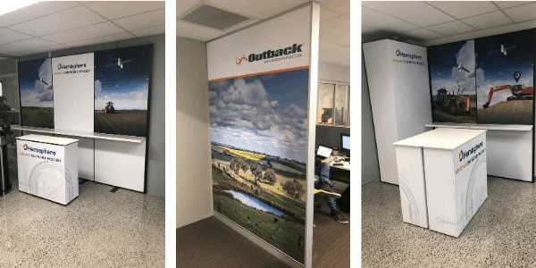 Boost your brand with a display for your workplace!