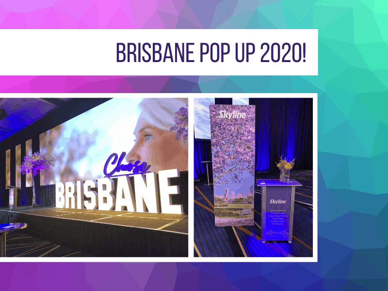 Brisbane Pop-Up 2020