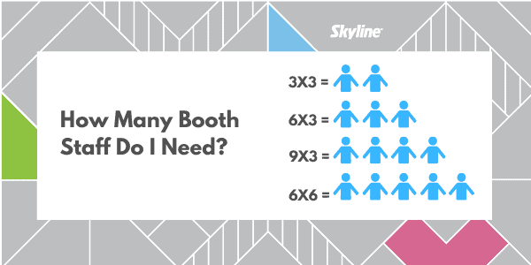 #FactFriday – How Many Booth Staff Do I Need?