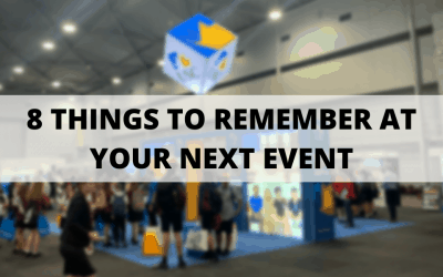 8 Thing To Remember At Your Next Event