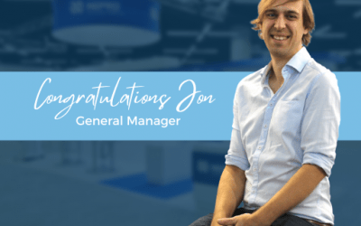 Congratulations to our new General Manager!
