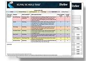 Trade show planning timeline